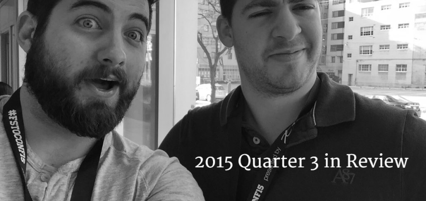 2015 Quarter 3 in Review